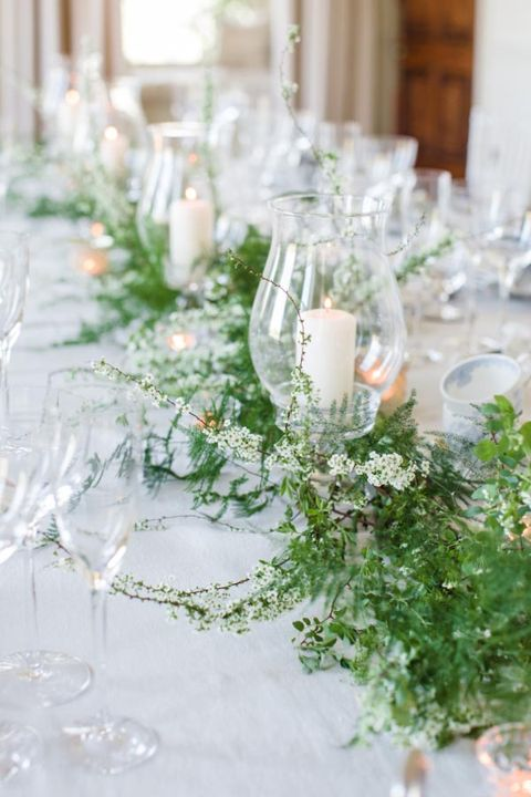 10 Ways To Decorate Your Wedding With Greenery Greenery