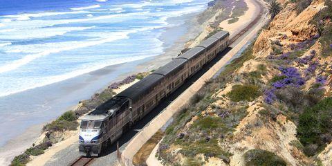 Pacific Coast train
