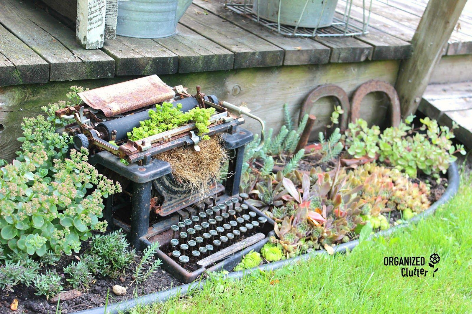 Elegant Junk Gardening Tour