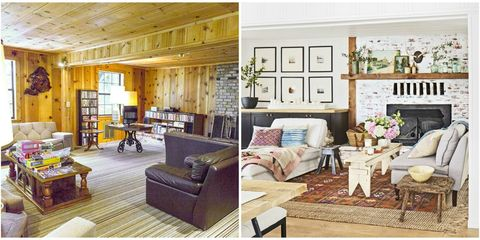 This Cabin Transformation Is Packed With Budget Friendly Diy Ideas