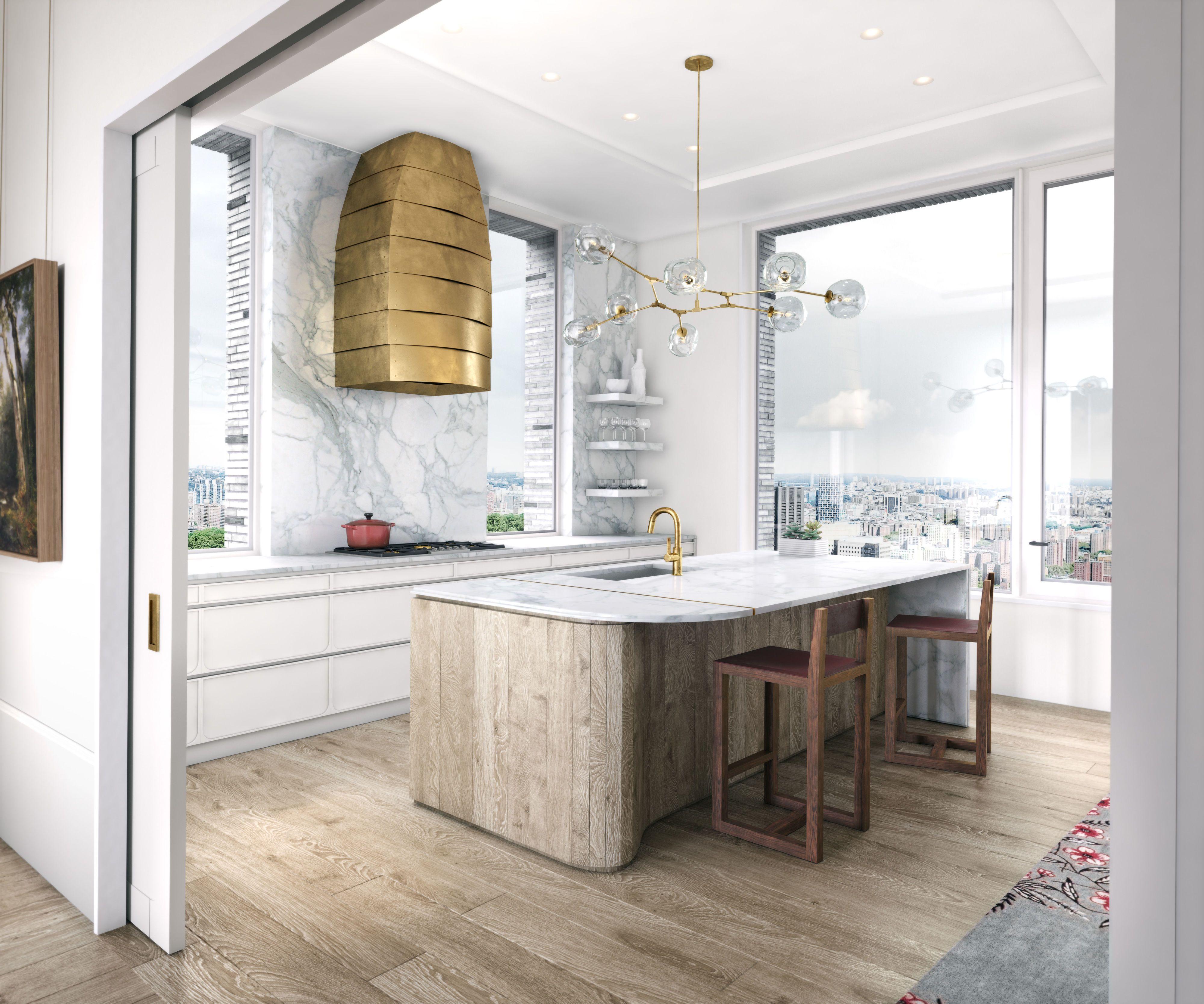 9 Brass Kitchen Hood. DDG Real Estate