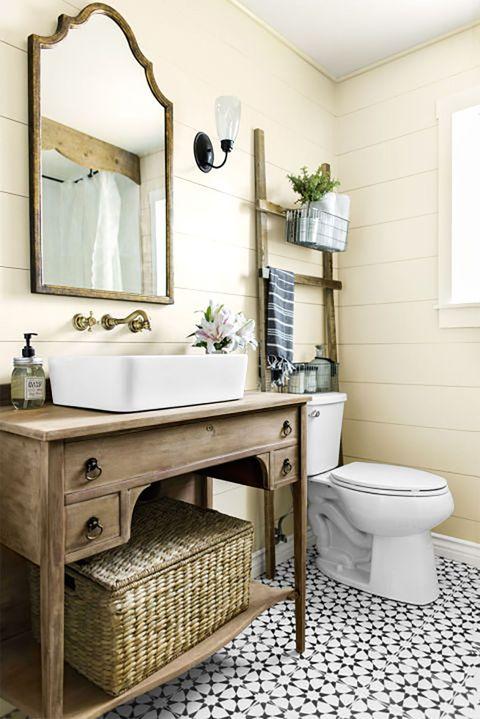 Room, Architecture, Property, Interior design, Wall, Floor, Tile, Flooring, Plumbing fixture, Bathroom sink,