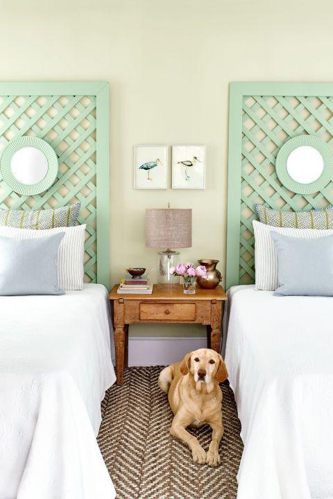 Beach House Decorating   Bedroom