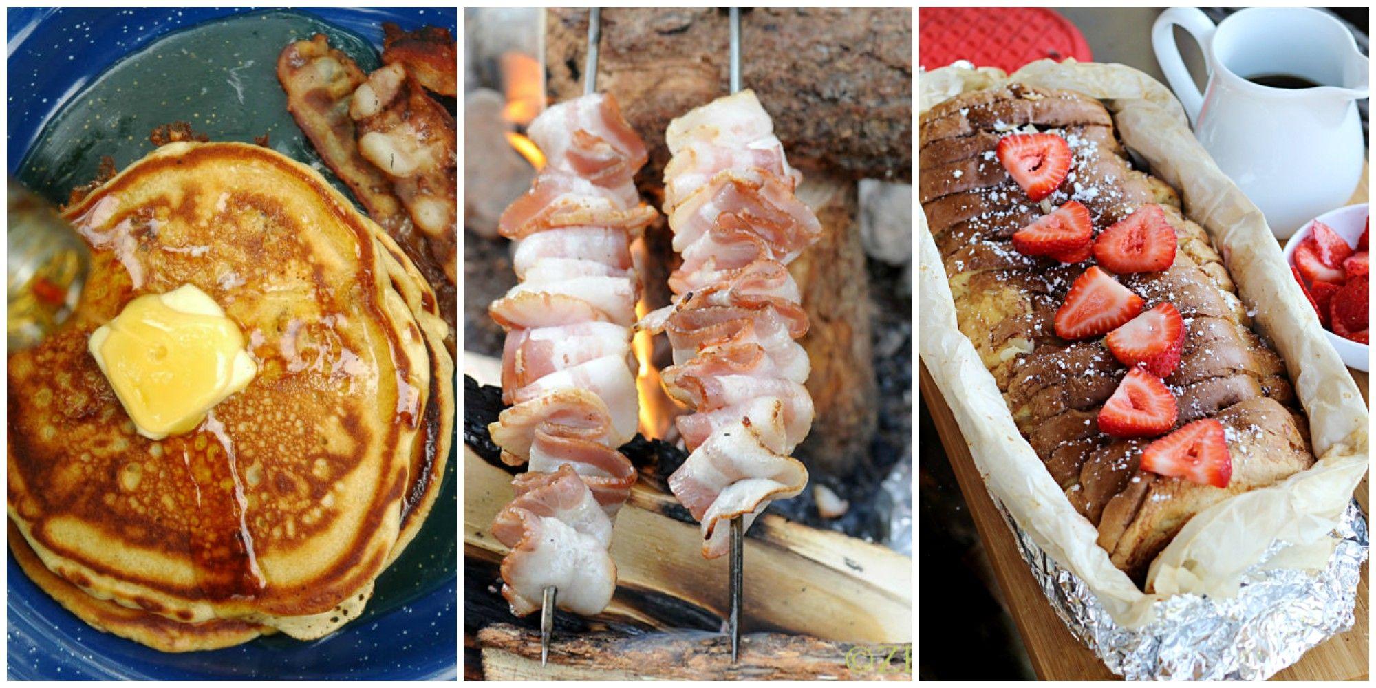 13 easy camping breakfast recipes - best campfire breakfast food ideas