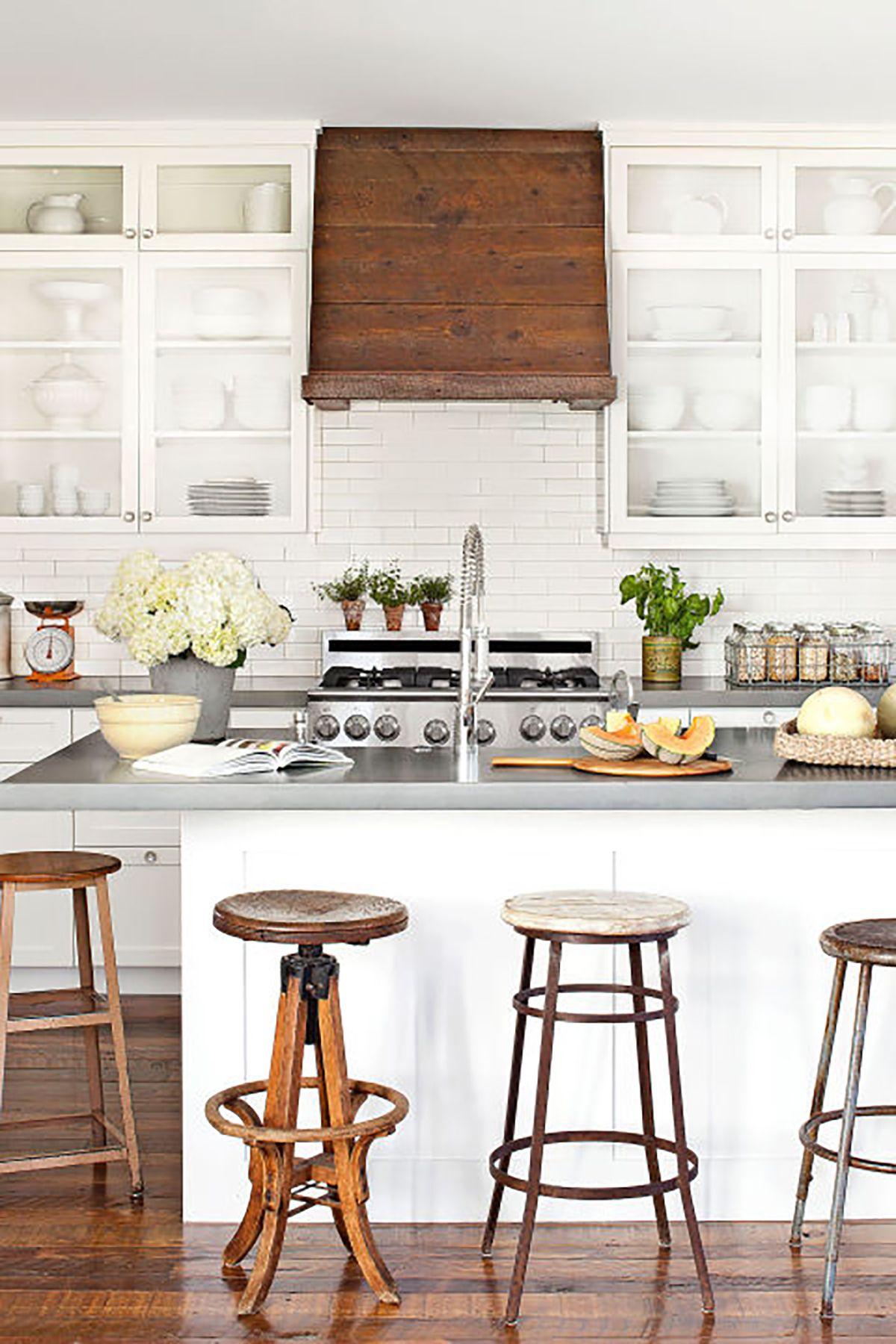 Rustic Country Kitchen Decor 18 farmhouse style kitchens - rustic decor ideas for kitchens