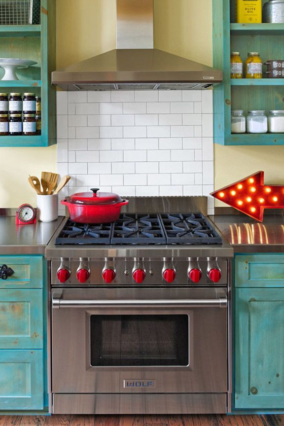10 Beautiful Blue Kitchen Decorating Ideas