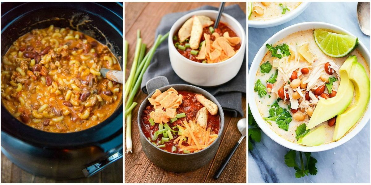 10 Slow Cooker Chili Recipes That Make Easy Weeknight Dinners
