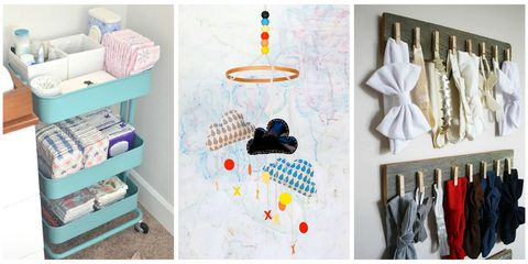 Whether You Have E To Spare Or Need Get Creative In A Small Home Try These Ideas For Room Decor Storage Organization And Other Pre Baby