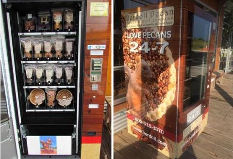 Display case, Vending machine, Building,