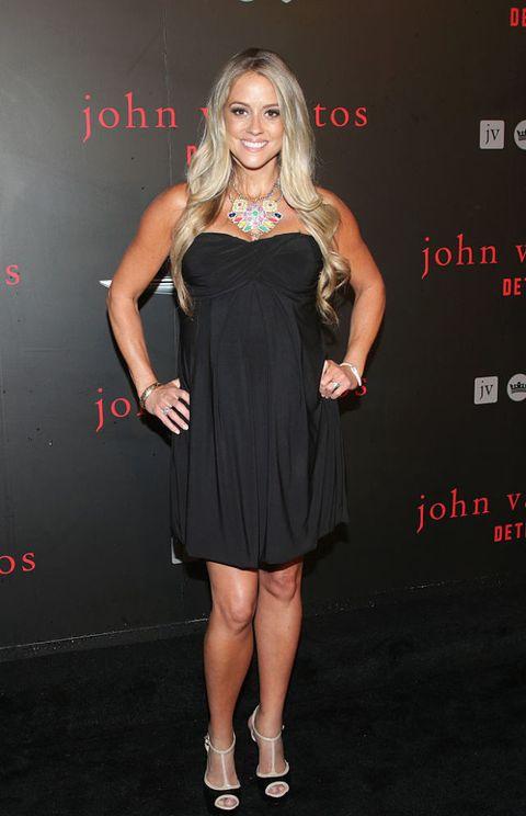 Nicole Curtis at John Varvatos store opening