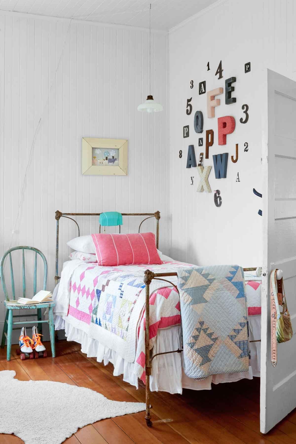 girl bedroom ideas & 12 Fun Girlu0027s Bedroom Decor Ideas - Cute Room Decorating for Girls