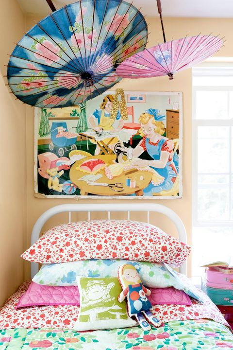 12 Fun Girl\'s Bedroom Decor Ideas - Cute Room Decorating for ...