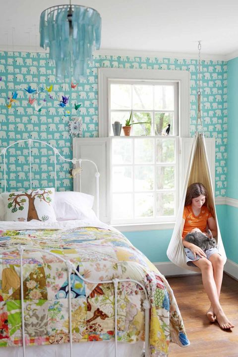 outstanding bedroom ideas girls room | 12 Fun Girl's Bedroom Decor Ideas - Cute Room Decorating ...