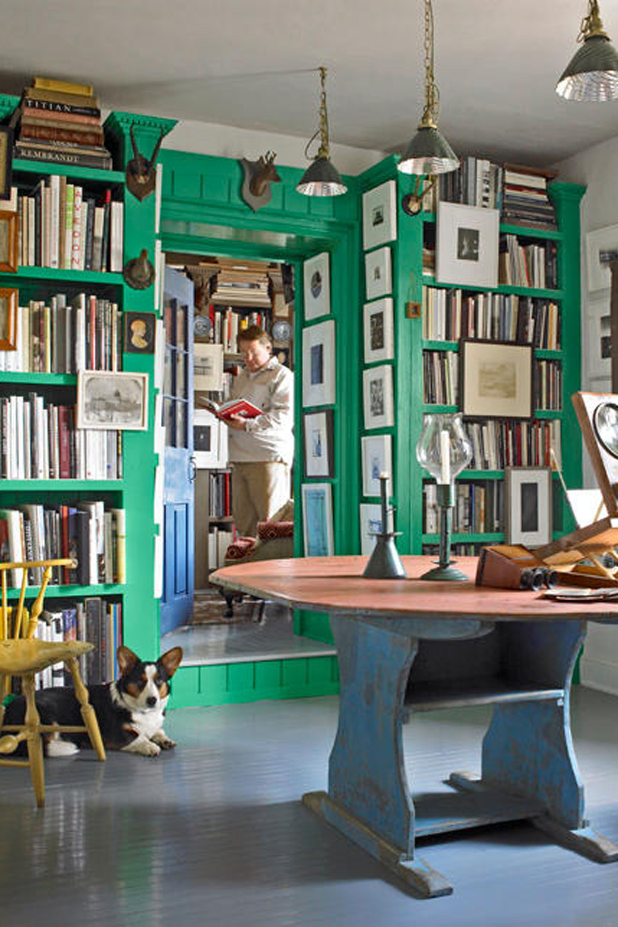 43 Rooms That Prove Green Is the Prettiest Color  Country