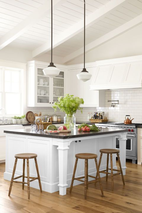 10 Best White Kitchen Cabinet Paint Colors - Ideas for ...