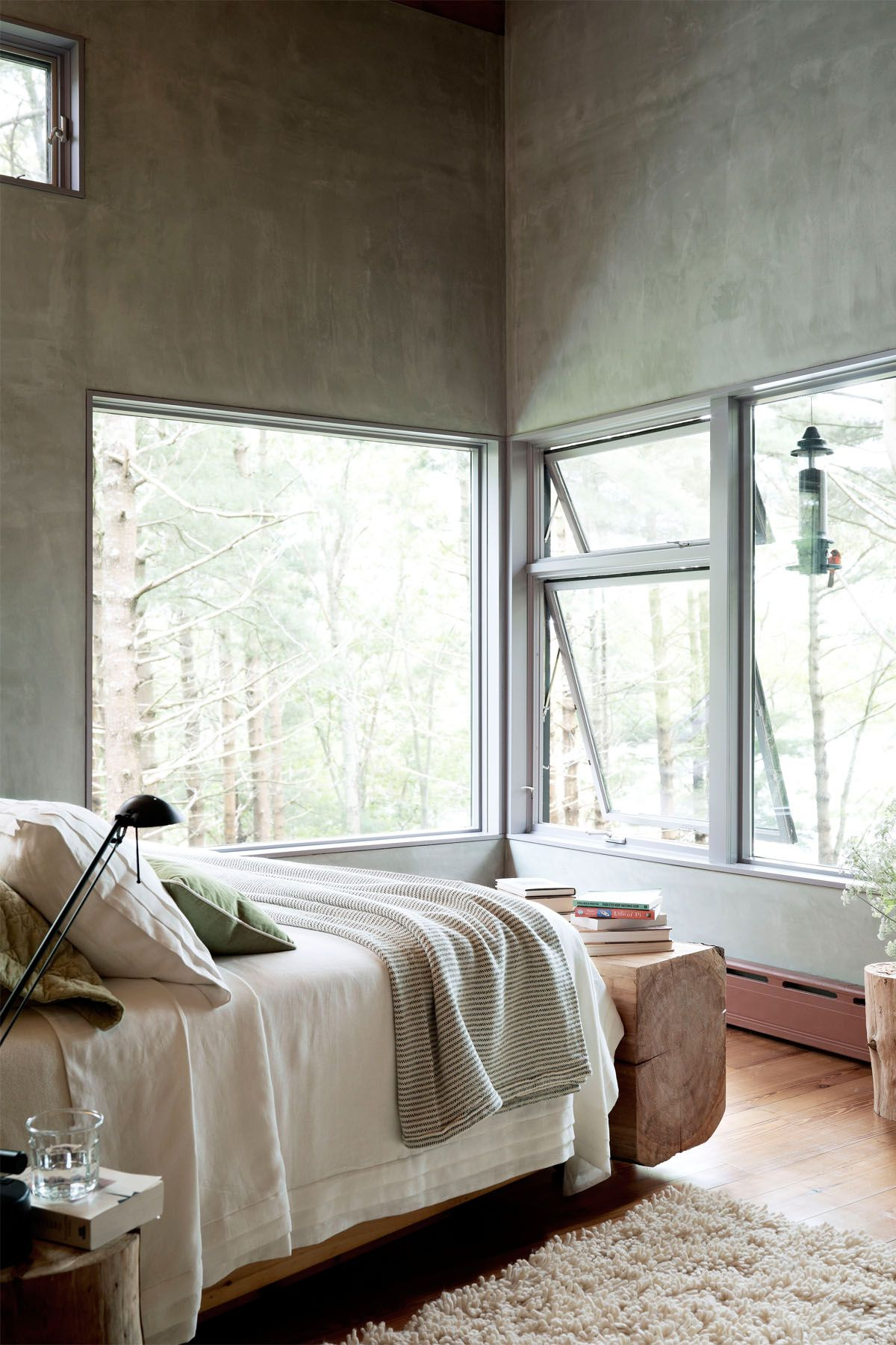 grey bedroom & 10 Gray Bedroom Decorating Ideas - Grey Paint Colors for Bedrooms