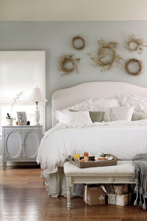 10 Gray Bedroom Decorating Ideas - Grey Paint Colors for ...