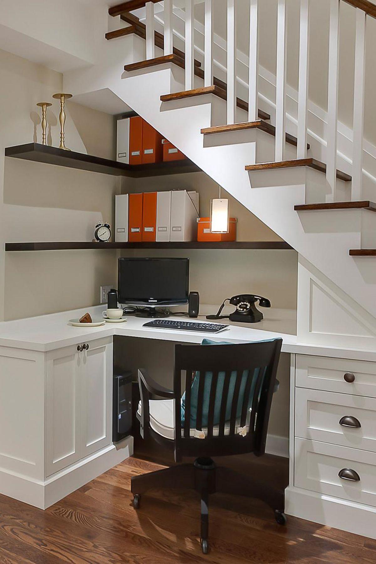 Sage Design Studio Inc. & 15 Genius under Stairs Storage Ideas - What to Do With Empty Space ...
