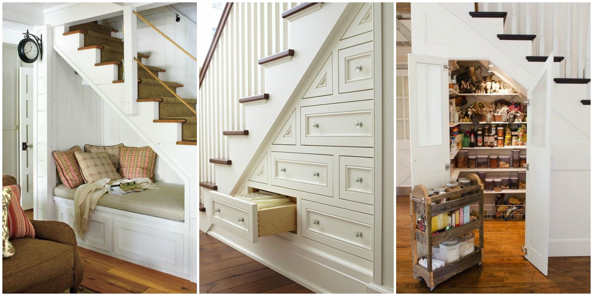 15 Genius under Stairs Storage Ideas - What to Do With Empty Space ...