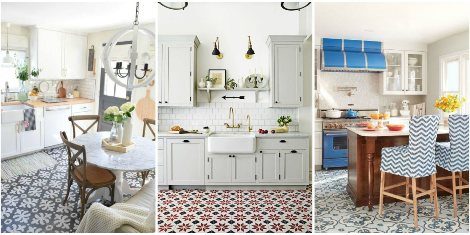 ... Number Of Todayu0027s Homeowners And Designers Are Going Against The Grain,  And Opting For Something A Bit Bolder When It Comes To Their Kitchen Floors.
