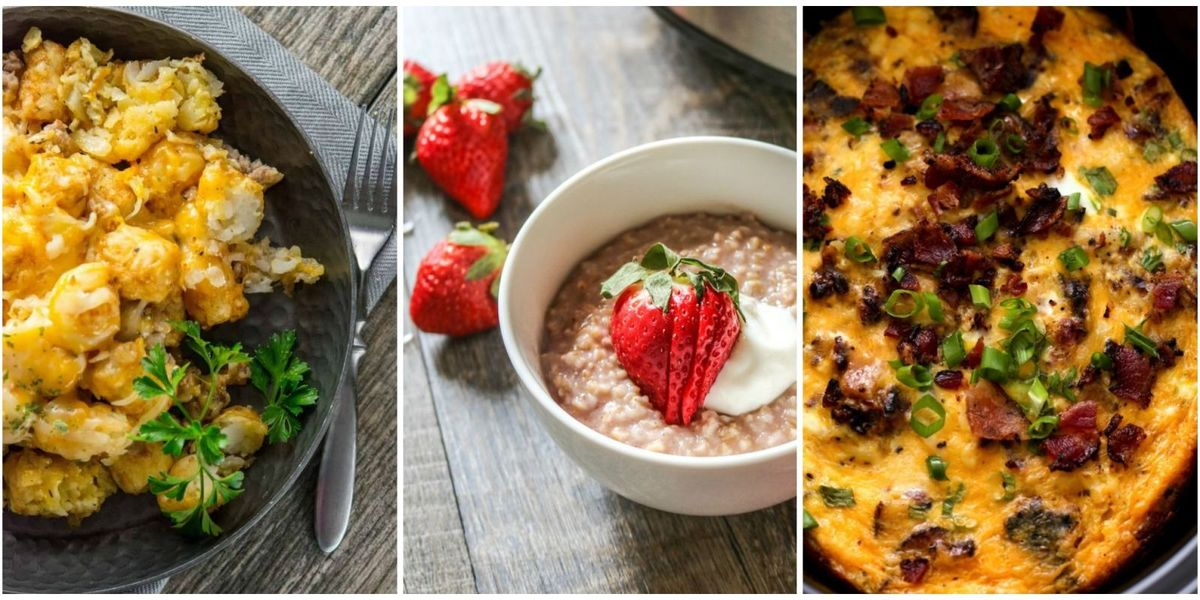 11 Slow-Cooker Breakfast Recipes That Will Make Your Mornings Easier