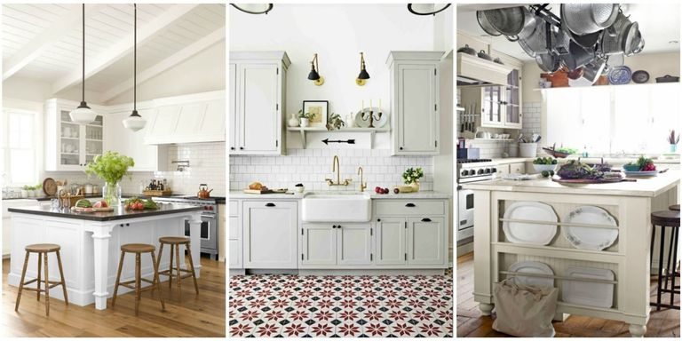 10 Best White Kitchen Cabinet Paint Colors - Ideas for Kitchen with ...