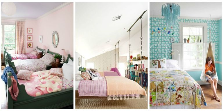 your daughter will love a room filled with color patterns and cute accessories click through to find oh so pretty bedroom decorating ideas for girls of - Ideas Girls Room