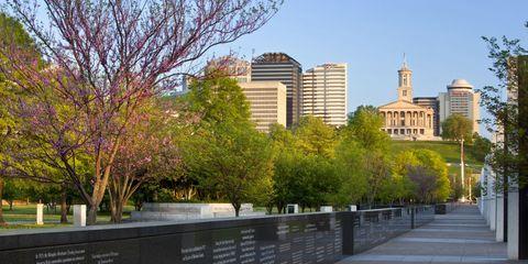 Daytime, City, Human settlement, Tree, Metropolitan area, Urban area, Landmark, Building, Architecture, Park,