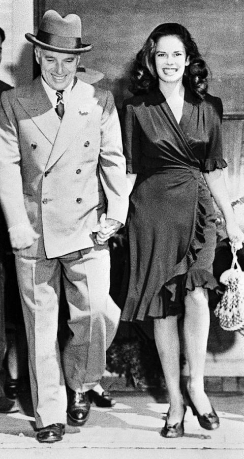 Charlie Chaplin and Oona O