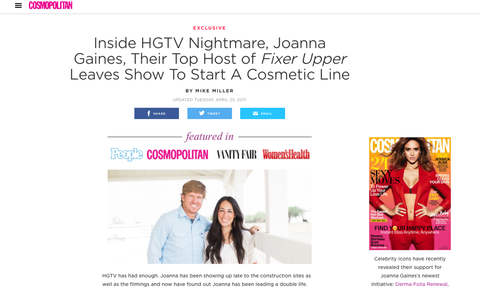 Joanna Gaines Fake News — Is Fixer Upper Canceled