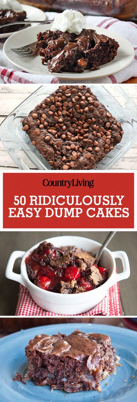 easy dump cakes