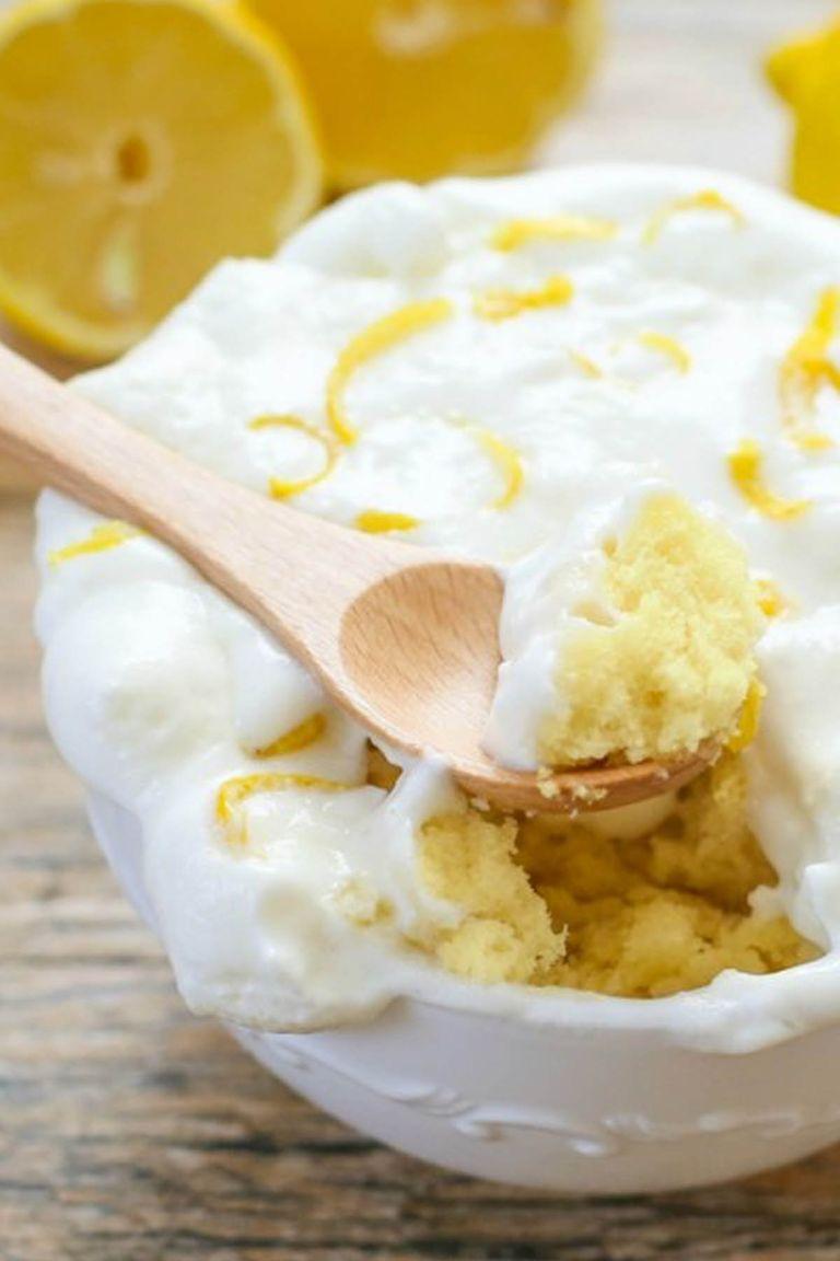 Yellow Cake In A Mug Easy Recipe
