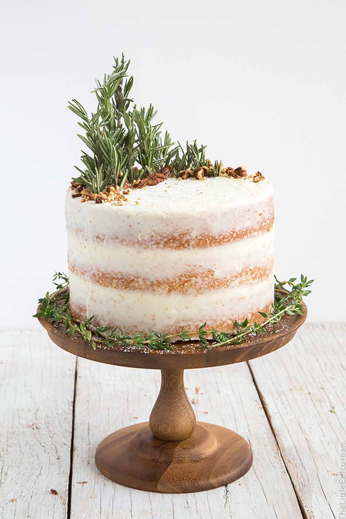14 Best DIY Naked Cake Recipes - How to Make a Naked Cake