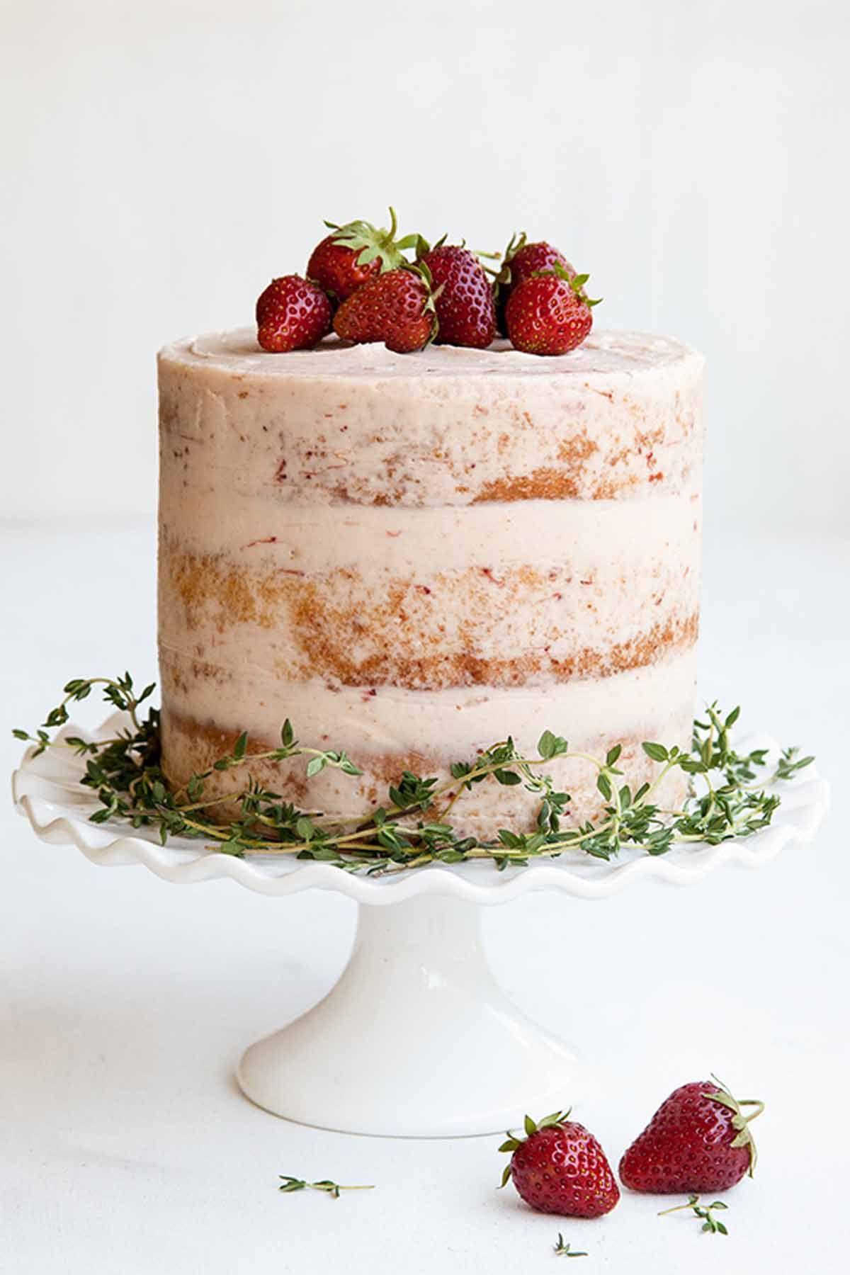 naked cake recipes