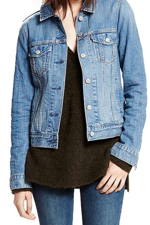 Clothing, Denim, Jeans, Jacket, Outerwear, Sleeve, Blue, Pocket, Textile, Hood,