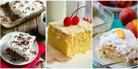 tres leches cakes