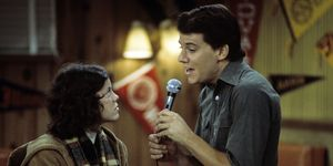 "Erin Moran and Anson Williams on ""Happy Days"""