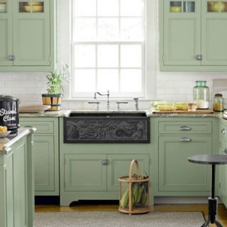 10 bright and beautiful paint colors to try for a green kitchen - Beautiful Paint Colours For Bedrooms