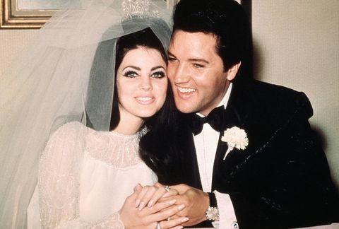 Elvis And Priscilla Presley S Wedding 50th Anniversary Of Elvis