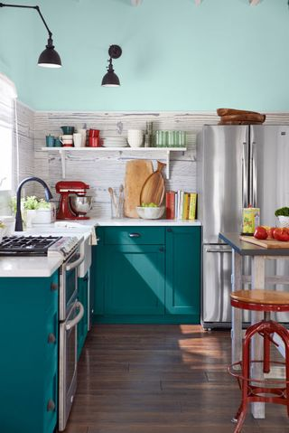 Designers Are Loving This Color For Kitchen Cabinets Right Now ...