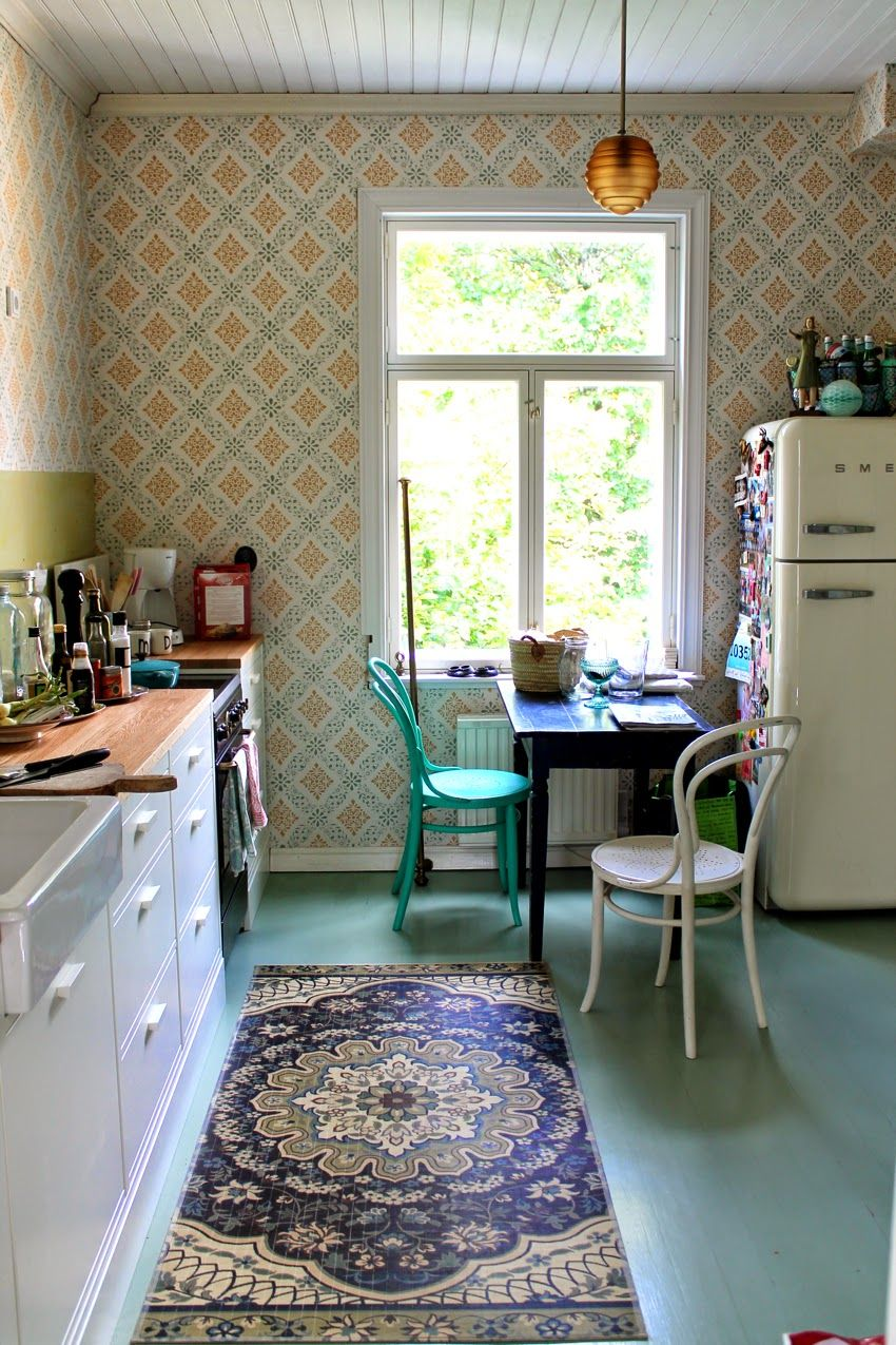 Vintage Kitchen Design Ideas Part - 29: Niinanunelmia.blogspot.fi