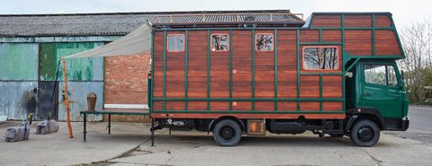 This Horse Truck Was Completely Transformed Into A Stunning Tiny