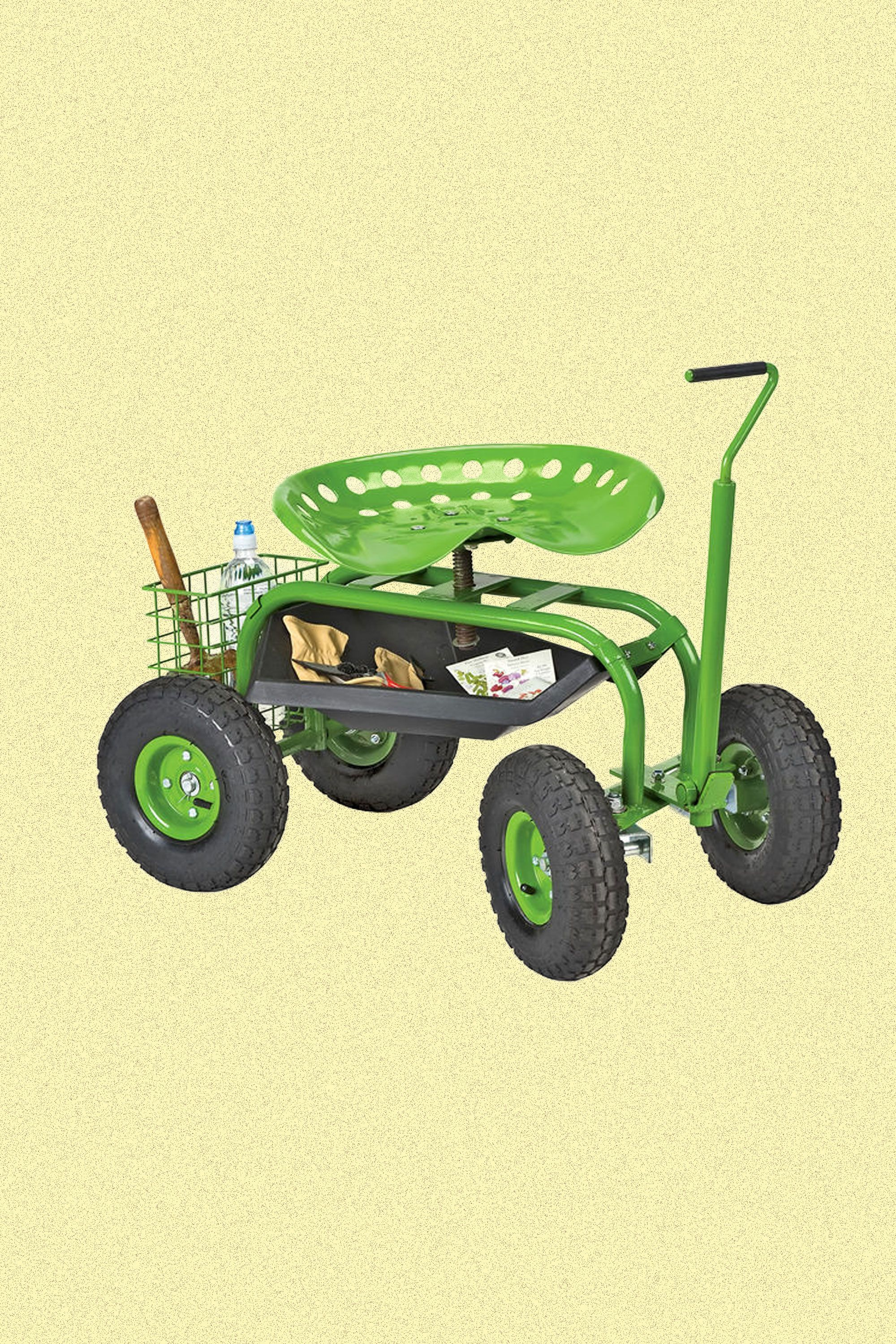 wheels storage plant best garden nursery wagon handle big with and cart itm almuwsll inch