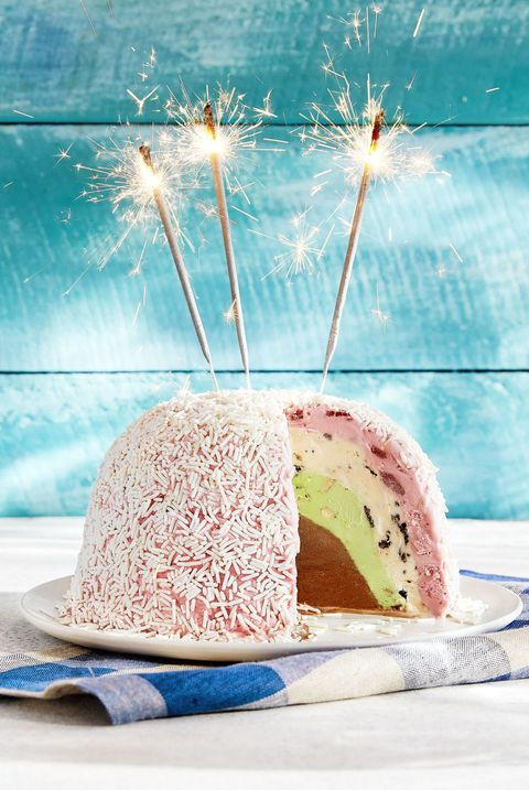 Blue Bell Ice Cream Bombe