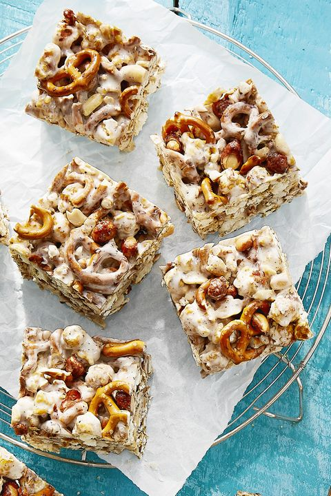 cracker jack and pretzel treats