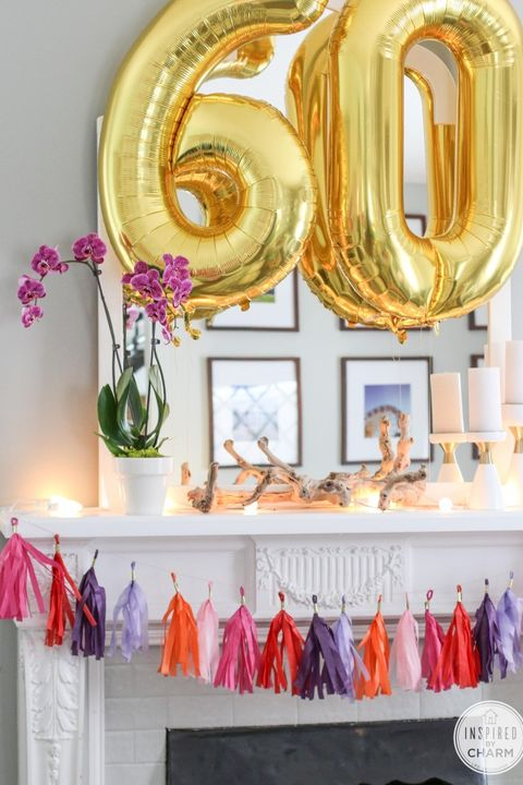 Inspired By Charm DIY Tassel Garland
