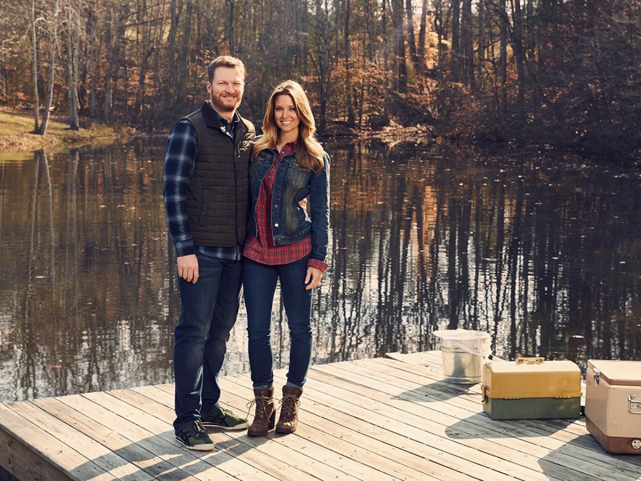 Dale Earnhardt Jr. and His Wife Amy Are Getting Their Own Design Show on DIY Network