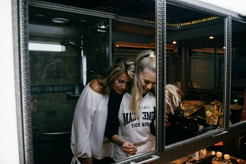 Kelsea Ballerini and her mom