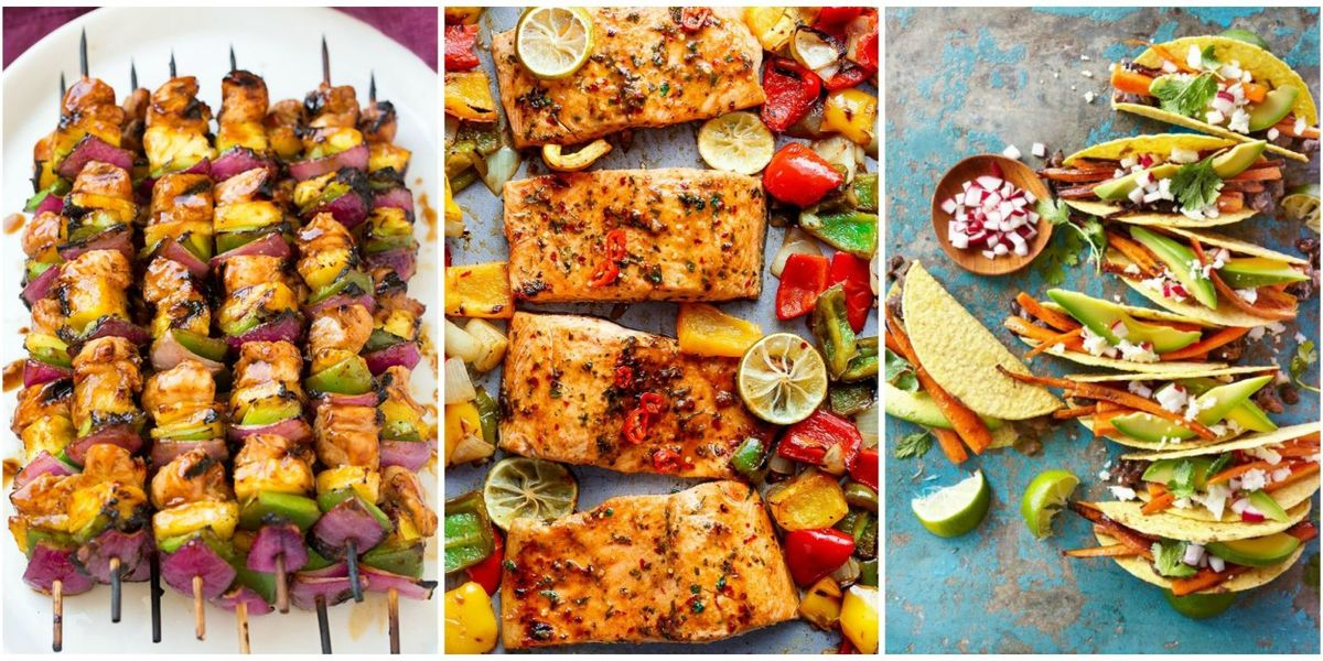 14 easy summer dinner ideas best recipes for summer dinners for Summer food party ideas