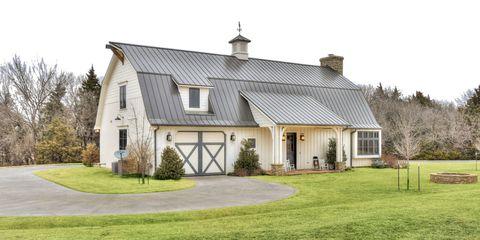 Property, Home, House, Cottage, Building, Farmhouse, Real estate, Roof, Estate, Land lot,